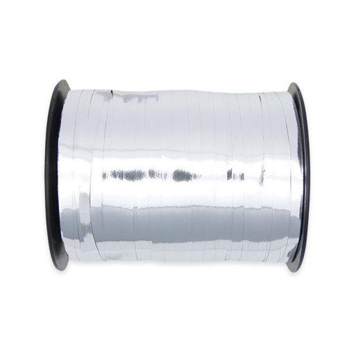 Nastrino in plastica 5 mm x 460 mt Argento Metal
