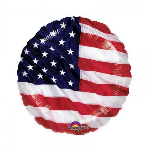 Palloncino Mylar 18'' 45 cm Bandiera USA