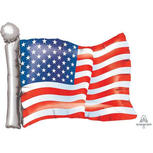 Palloncino Super Shape Bandiera America 27'' 69 cm