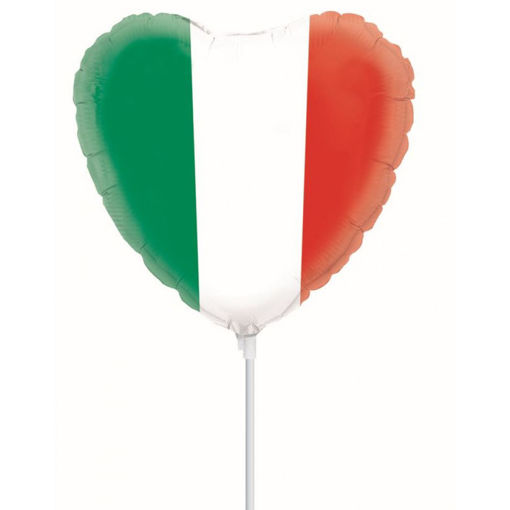 Palloncino mini shape tricolore Italia