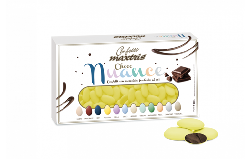Confetti Maxtris Choco Nuance Giallo 1 kg