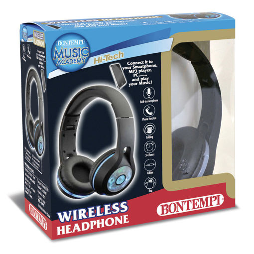 Cuffie Wireless con luci Led
