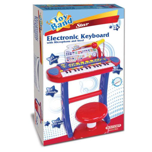Tastiera elettronica 31 tasti con microfono gambe e sgabello