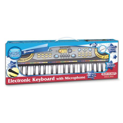 Tastiera elettronica 37 tasti passo midi con microfono