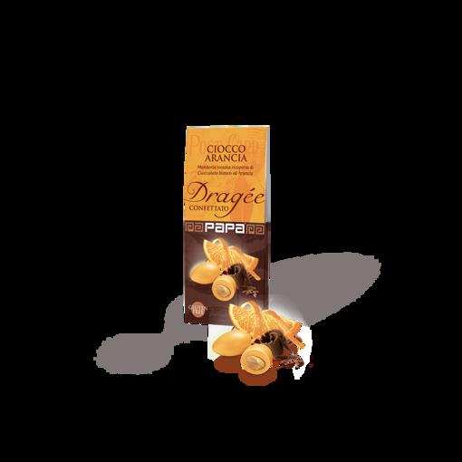 Papa Dragee Ciocco Arancia 100 grammi