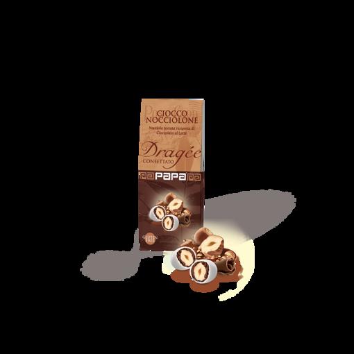 Papa Dragee Ciocco Nocciolone Bianco 100 grammi