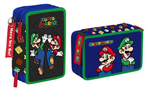 Astuccio 3 Zip Super Mario