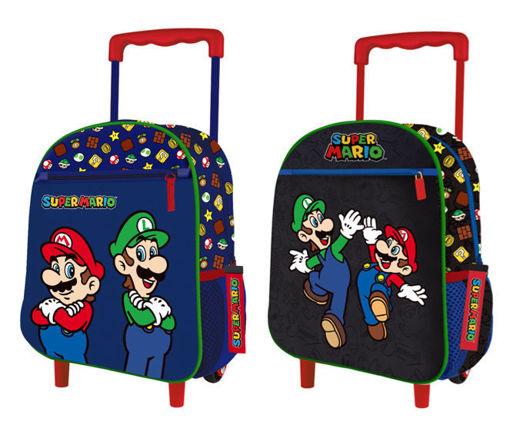 Zaino Trolley Asilo Super Mario