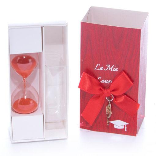 Box Laurea Clessidra 6 cm
