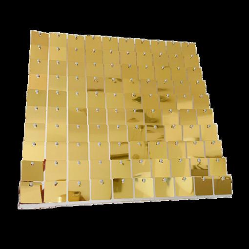 50 Pannelli Pailettes 30x30 cm Oro