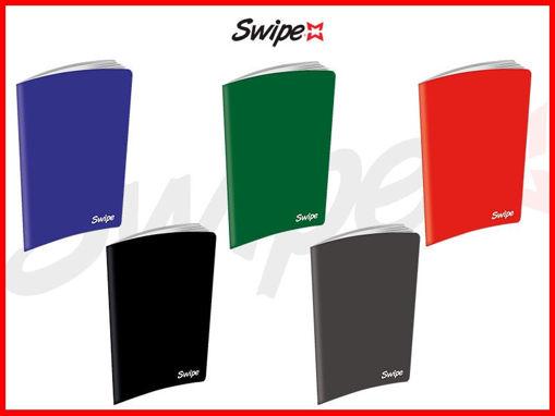 Maxi Quaderno A4 fogli 30+1 Swipe Pro monocolore 5 mm
