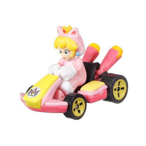 Modellino Die Cast MarioKart Cat Peach