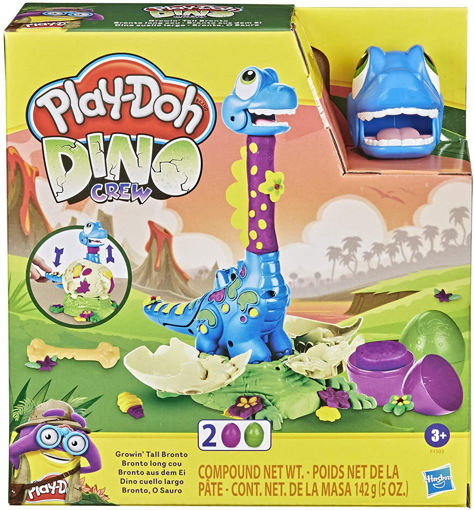Play-Doh Brontosauro che scappa