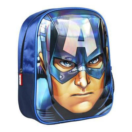 Zaino Asilo Avengers Capitan America 3D