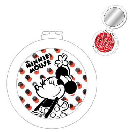 Spazzola per Capelli con specchio pieghevole Disney Minnie