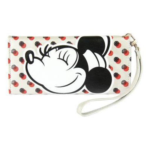 Portafoglio Argento a pois Disney Minnie