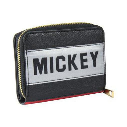 Portafoglio Rosso e Nero Disney Mickey Mouse