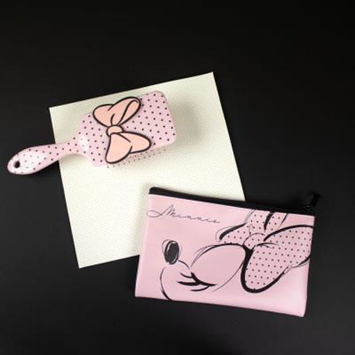 Set Spazzola con borsetta Disney Minnie