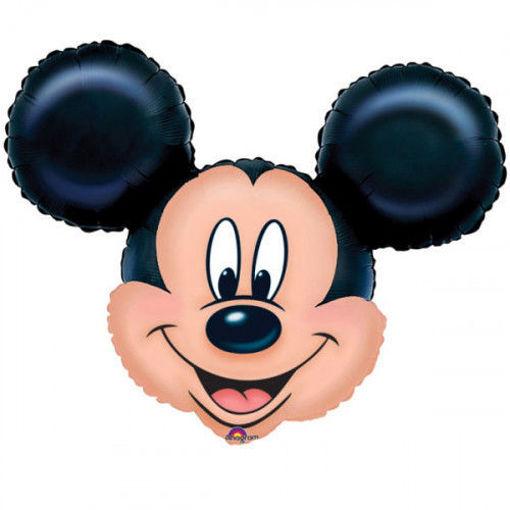 Palloncino mini shape Testa di Topolino 22 cm