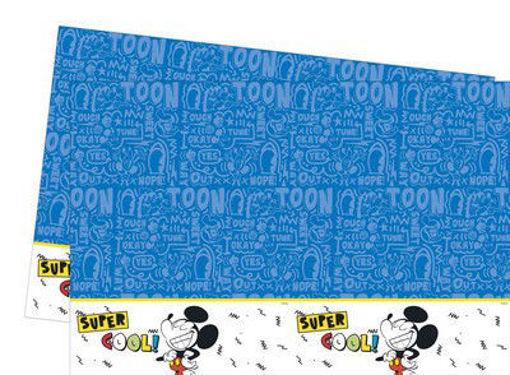 Tovaglia in plastica Topolino Super Cool 120x180 cm