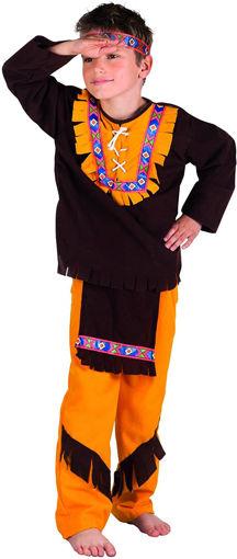 Costume Bimbo piccolo Indiano 4/6 anni