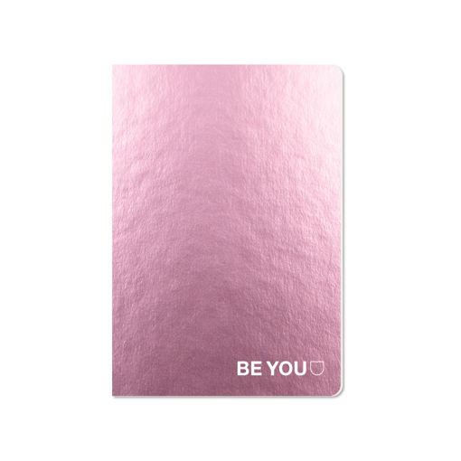 Maxi Quaderno A4 Be You Rosa Gold rigatura 5 mm
