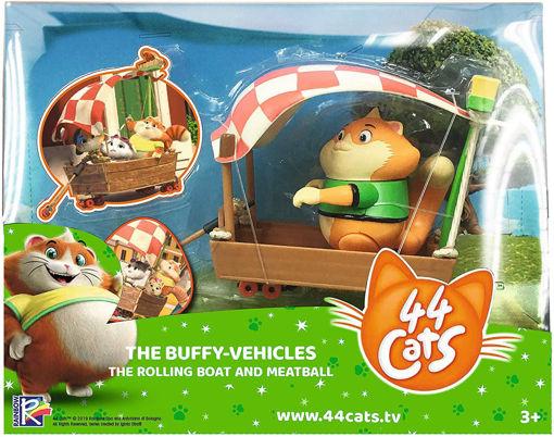 44 Gatti Barca  con personaggio 8 cm