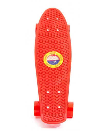 Skateboard Rosso o blu