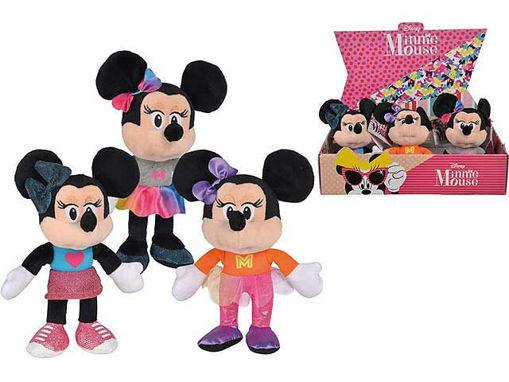 Peluche Disney Minnie 20 cm - fantasie assortite