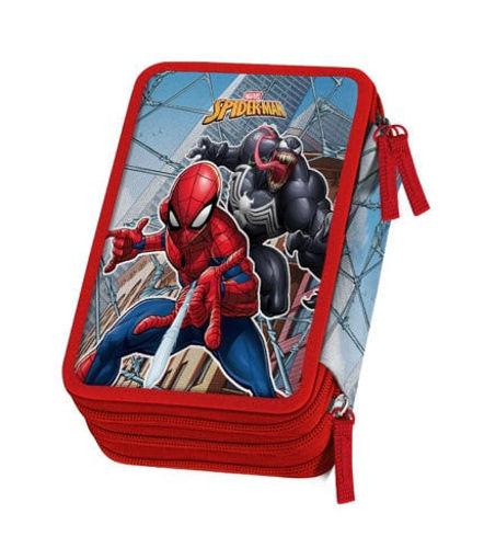 Astuccio 3 Zip Spiderman