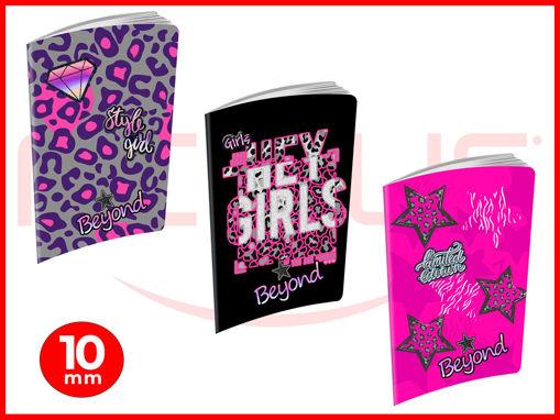 10 Maxi Quaderni 20+1 fogli Beyond Fashion Girl 10 mm