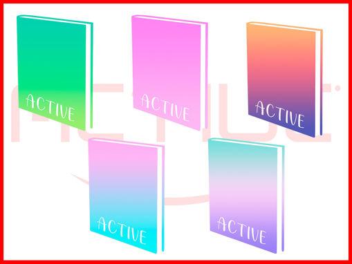 Diario Poket Active Bicolor - colori assortiti