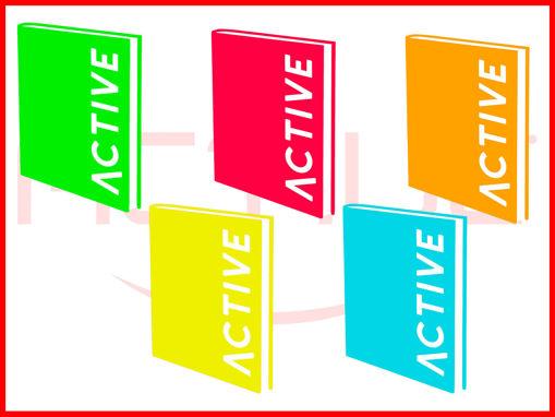 Diario Poket Active Fluo - colori assortiti