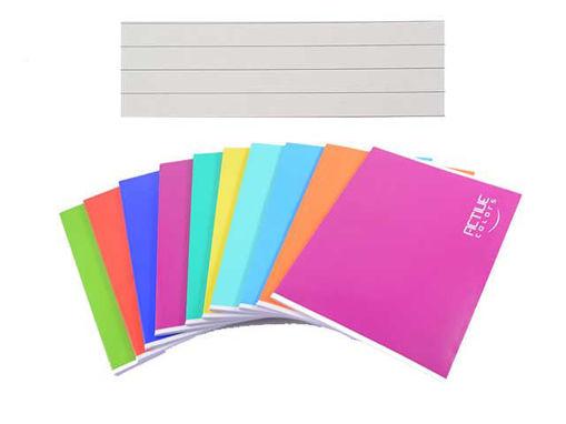 10 Maxi Quaderni Active Color Maxi 20+1 fogli 1 rigo