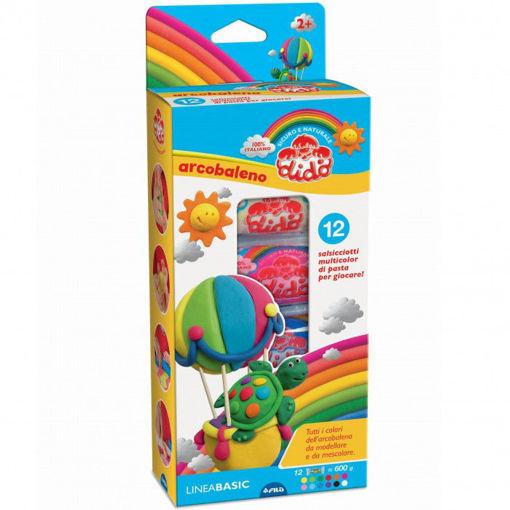 Didò arcobaleno multimodel 12 salsicciotti
