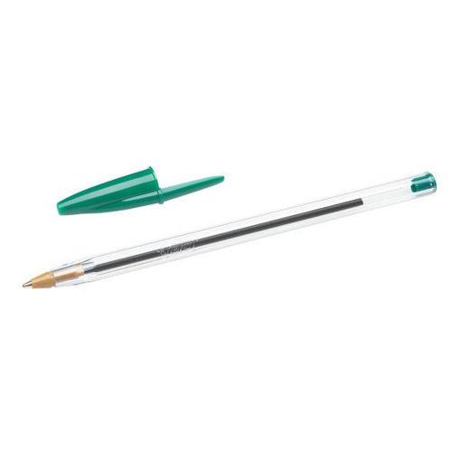 Penna Bic Cristal Original Verde