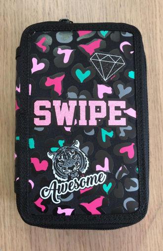 Astuccio 3 Zip Swipe Flash Girl