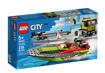 Lego City Trasportatore di Motoscafi