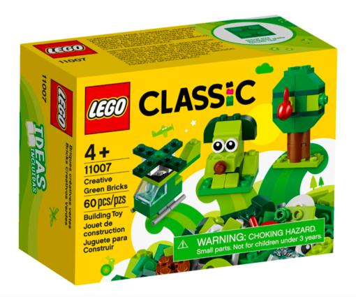 Lego Classic Mattoncini Verdi Creativi