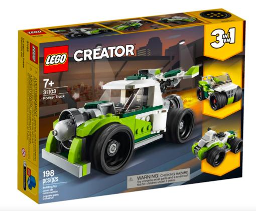 Lego Creator 3 in 1 Razzo Bolide