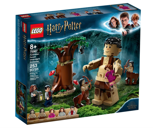 Lego Harry Potter la foresta proibita