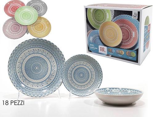 Servizio da Tavola in porcellana 18 pezzi