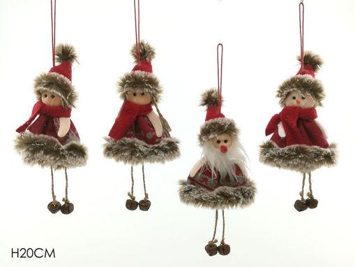 Appendino personaggio natalizio