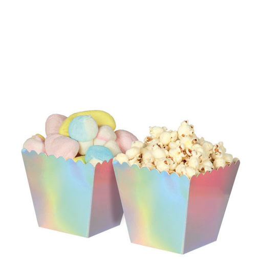 Sweety Box Iridescent 6,5x8x6,5 cm 6 pezzi