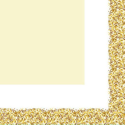 Tovaglioli 33x33 cm Glitter Oro 20 pezzi