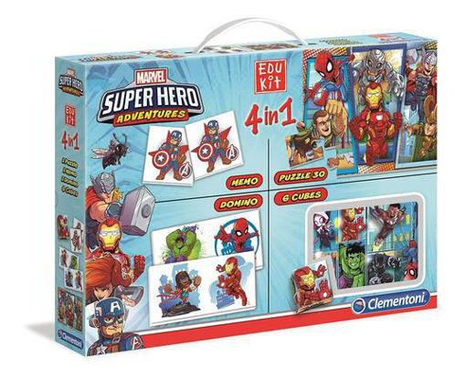 Edukit 4 in 1 Superhero