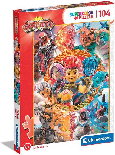 Puzzle 104 supercolor Gormiti