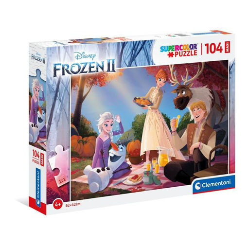 Puzzle 104 Maxi Supercolor Frozen 2