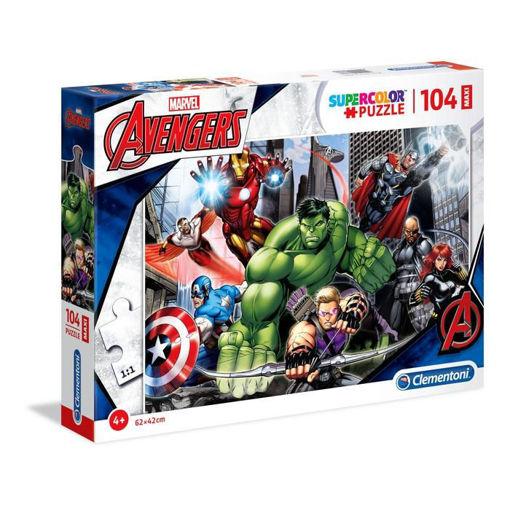 Puzzle 104 Maxi Supercolor Marvel Avengers