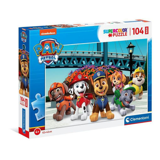 Puzzle 104 Maxi Supercolor Paw Patrol